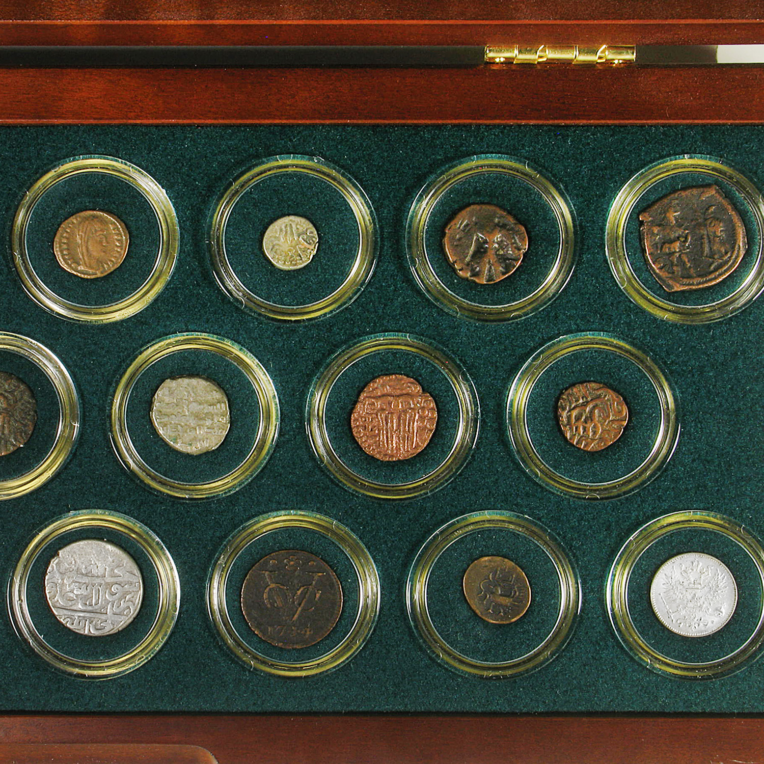 20 Centuries A.D. Silver and Bronze Coin Collection